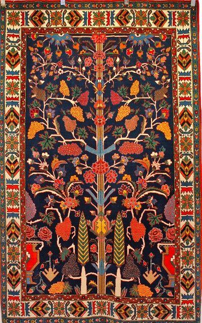 Persian Bakhtiar Tree Of Life Design Persian Carpet
