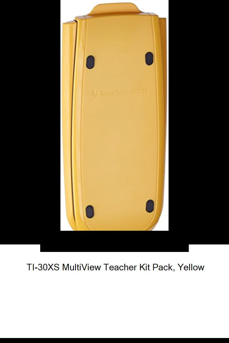 TI30XS MultiView Teacher Kit Pack, Yellow new Yellow