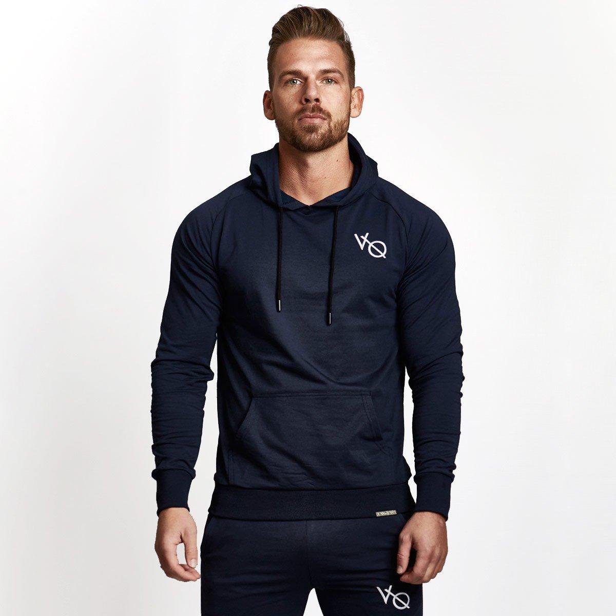 Vanquish Sport Jacket Zipper VQ Hoodie Brand Tracksuit Sportswear Gym Sweatshirt