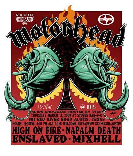 Motorhead Concert Posters Band Posters Motorhead