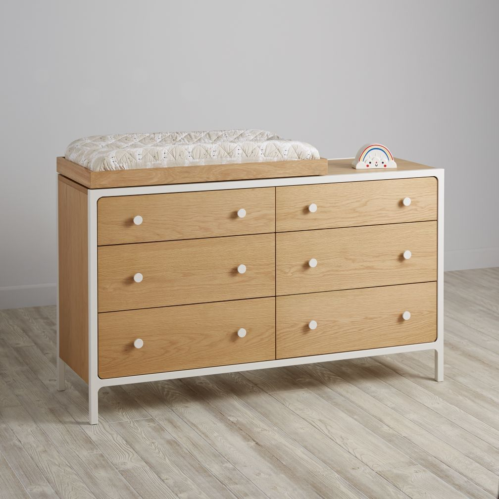 Shop White Wooden Changing Table If You Love The Modern Contrast Of White And Wood Then Our Larkin White Wooden Changing Table Is For You Toddler Bedroom Decor