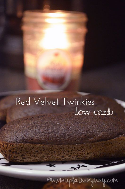 Red Velvet Twinkies - Up Late Anyway   Low Carb Recipes