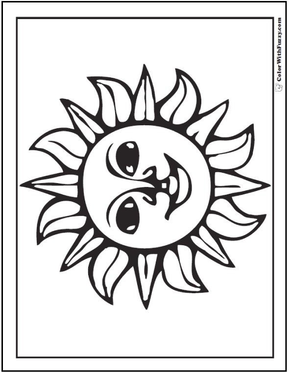 60 Star Coloring Pages Customize And Print Ad Free Pdf Star Coloring Pages Sun Coloring Pages Coloring Pages