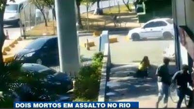 Galdino Saquarema Noticia: (Cenas Fortes) Assalto a agência bancária no RJ dois mortos..