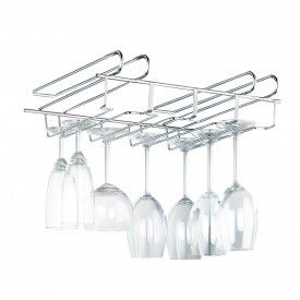 Range assiettes vertical en métal blanc | Rangement vaisselle, Verre à pied et Rangement vertical