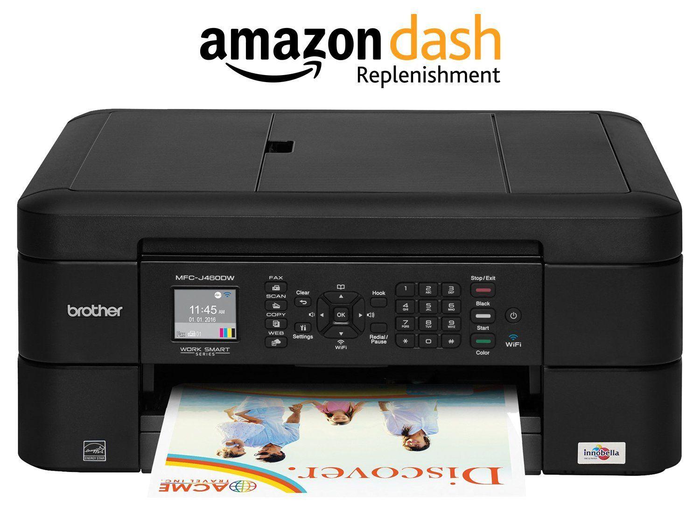 Brother Printer MFCJ460DW Wireless Color Photo Printer