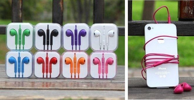 Universal Colorful Earbuds