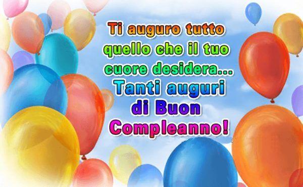 Buon Compleanno Immagini Auguri E Frasi Per Whatsapp Buon