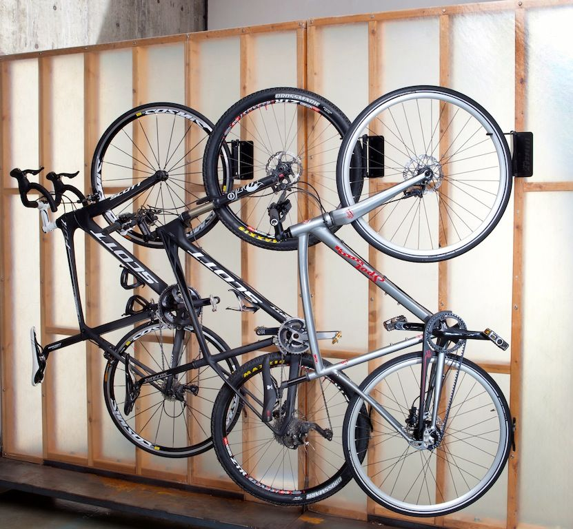 Bespoke indoor bike storage for smaller spaces Bike