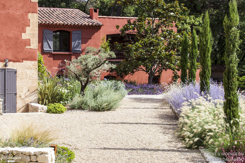 Jardin méditerranéen, Agence MORVANT & MOINGEON - Côté Maison ...