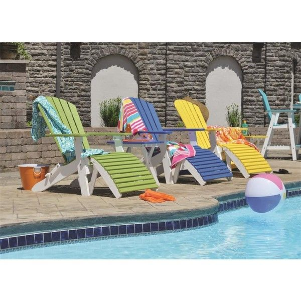 Berlin Gardens Comfo-Back Folding Poly Adirondack Chair ($294) ❤ liked on Polyvore featuring home, outdoors, patio furniture, outdoor chairs, outside patio furniture, adirondack patio chair, recycled outdoor furniture, garden chairs and outdoor patio furniture