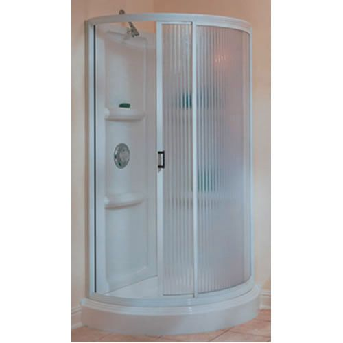 Fantastic 32 Inch Shower Stall Kits Looks Efficient Article With