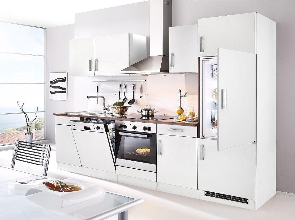 Küchenzeile mit EGeräten »Toronto, Breite 280 cm« Küche