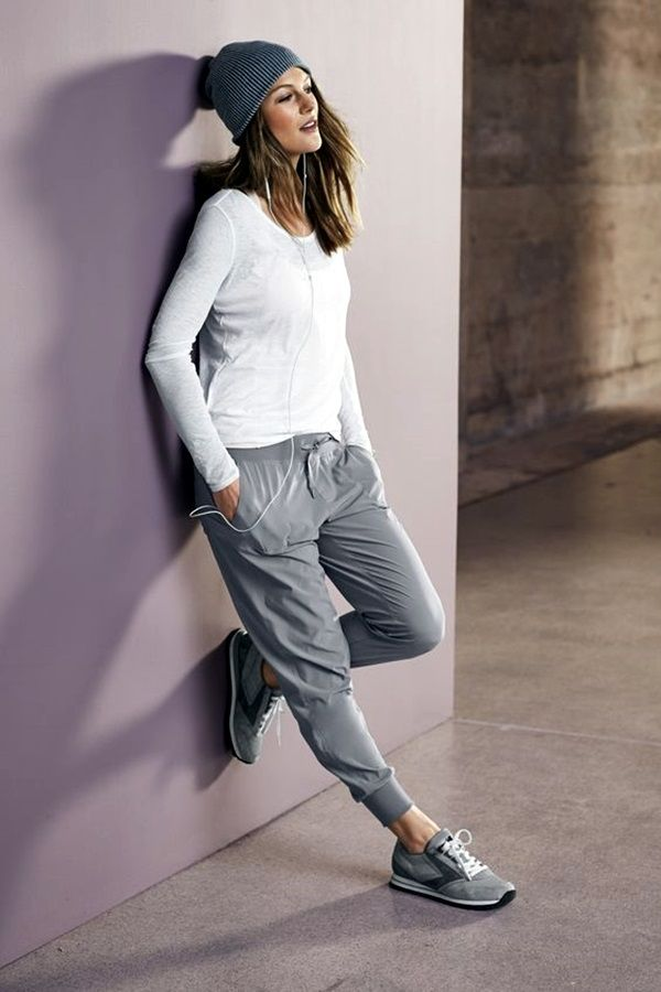 45 Stylish Jogger Pants Outfit That Ll Inspire You Jogger Pants Outfit Women Jogger Pants Casual Sunday Outfit