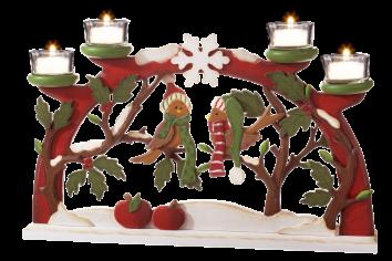 kerzenhalter schwibbogen winterv gel schwibbogen schwibbogen weihnachten und. Black Bedroom Furniture Sets. Home Design Ideas