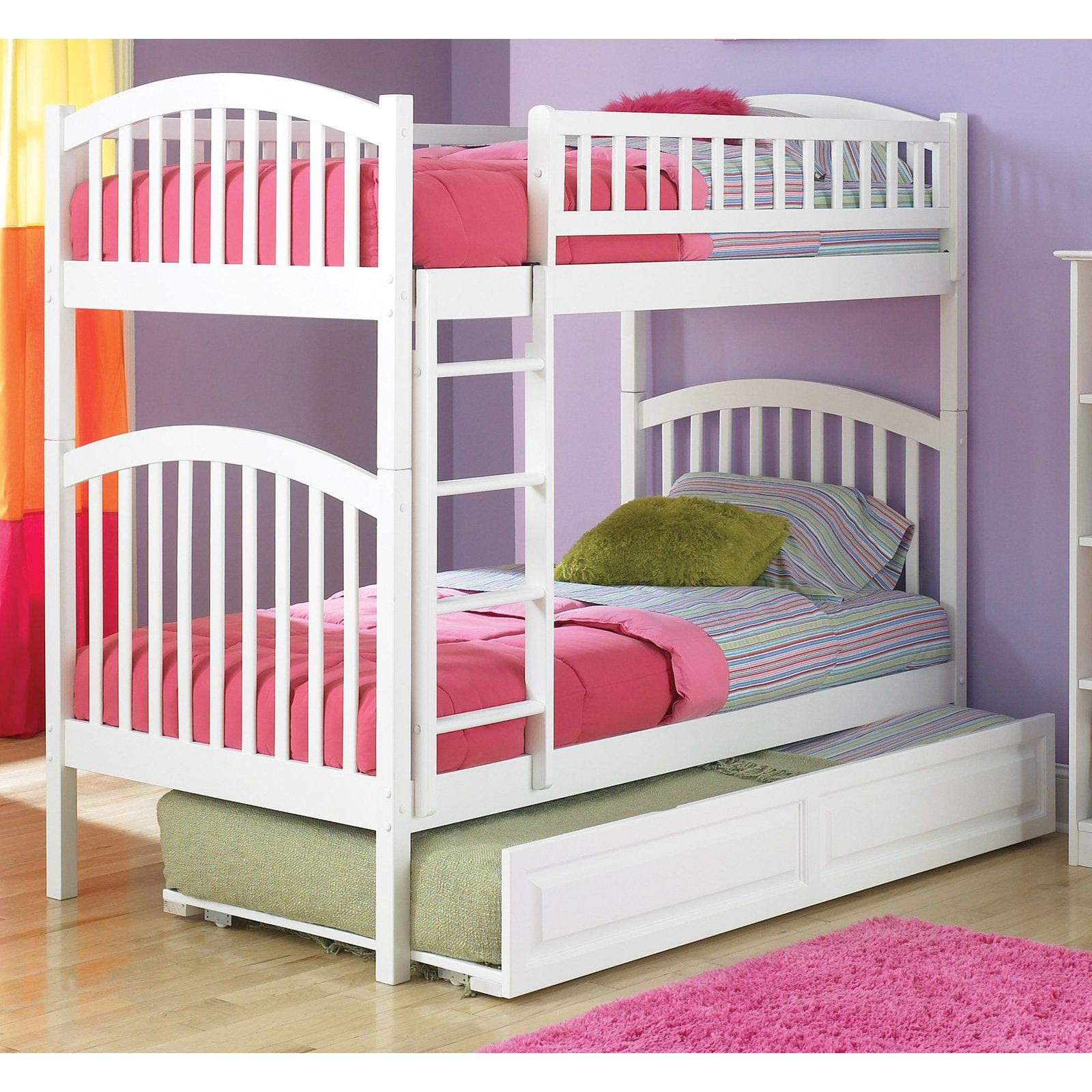 Loft bed ideas girls  Have to have it Richmond Twin over Twin Bunk Bed   Products