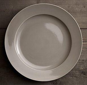 Chinese Porcelain Grand-Rimmed Dinnerware Collection - Fog | RH & Chinese Porcelain Grand-Rimmed Dinnerware Collection - Fog | RH ...