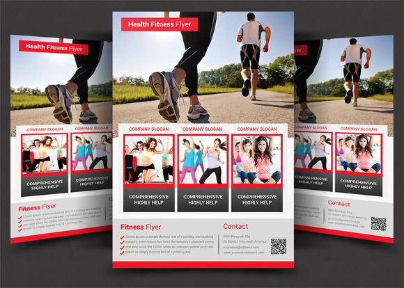 Fitness Flyer - Gym Flyer @creativework247 Flyer Templates - fitness flyer