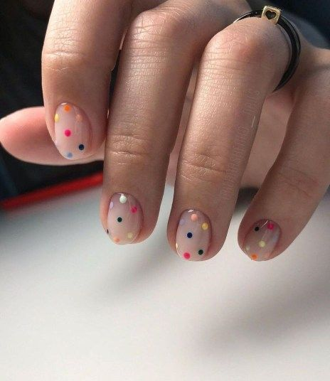 53 Amazing Nail Designs Ideas For Short Nails To Try - FASHIONFEZT