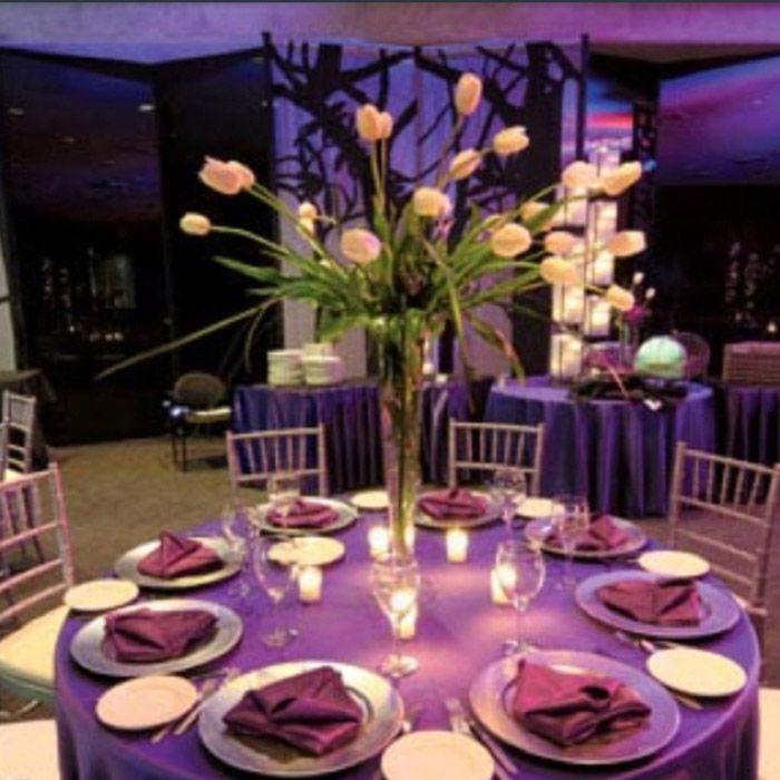 Purple Wedding Table Decorations Wedding Cake Table Decorations Purple Wedding Tables Purple Wedding Cake Table