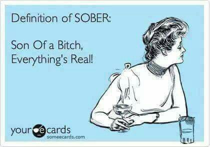 Definition Of Sober Funny Definition Friday Humor Ecards Funny