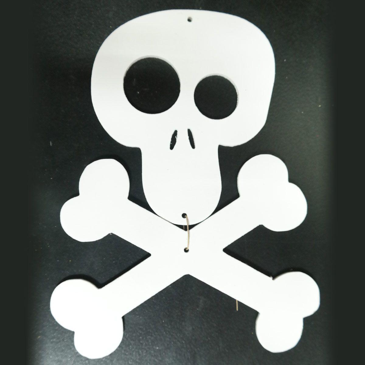 Костяшки «Веселый Роджер»,  Хеллоуин 198х144 мм, TM Scorpio