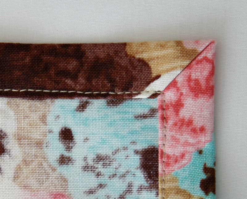 Cloth Napkins with Mitered Corners | DIY Gifts & Crafts | Pinterest ...