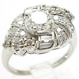 there is nothing like platinum to make diamonds look so brilliant