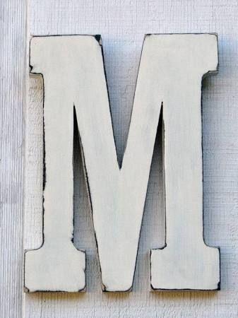 Letter M Decor Google Search