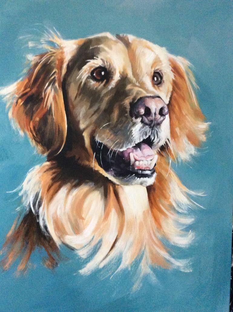 Original Portrait Painting By Sharon Coles Fine Art Art On