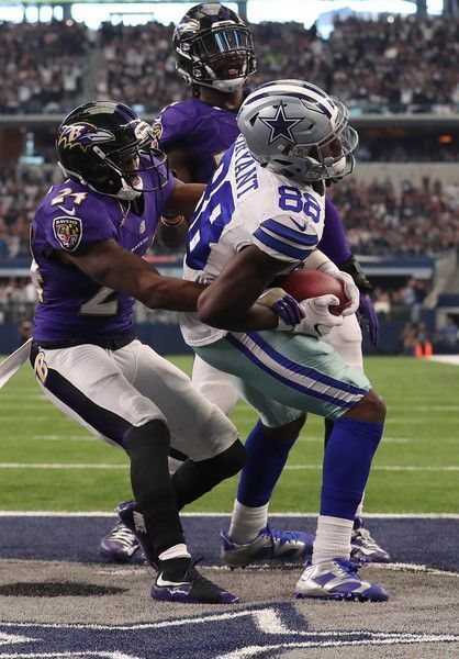 Dez Bryant Photos Photos: Baltimore Ravens v Dallas Cowboys #dezbryant Dez Bryant Photos Photos - Dez Bryant #88 of the Dallas Cowboys catches a touchdown pass from quarterback Dak Prescott #4 during the third quarter against the Baltimore Ravens at AT&T Stadium on November 20, 2016 in Arlington, Texas. - Baltimore Ravens v Dallas Cowboys #dezbryant Dez Bryant Photos Photos: Baltimore Ravens v Dallas Cowboys #dezbryant Dez Bryant Photos Photos - Dez Bryant #88 of the Dallas Cowboys catches a tou #dezbryant