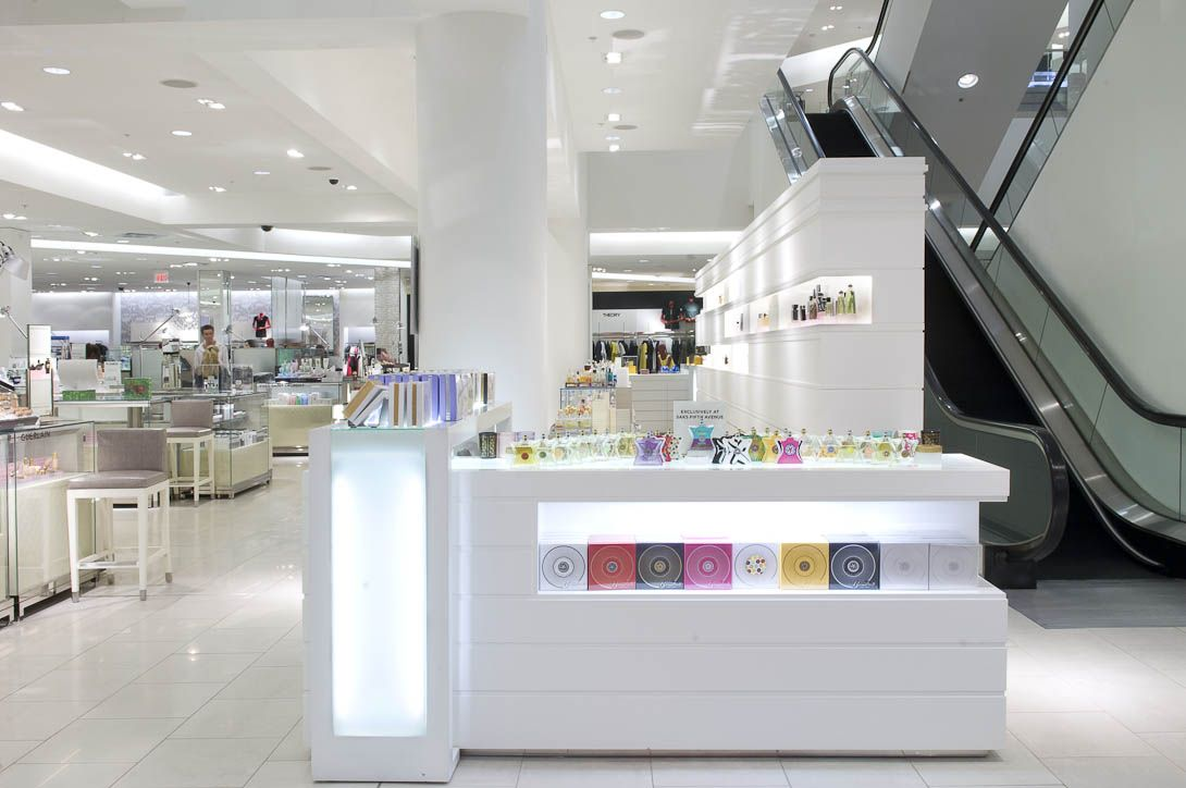 Architecture Photography Los Angeles retail interior architectural photography of saks fifth avenue in