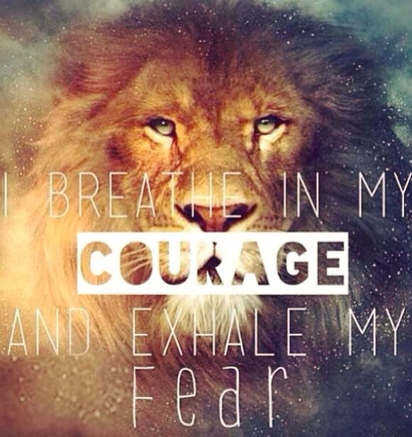 Pin by diana on inspirational quotes pinterest christian life courage doesnt mean you dont get afraid courage means you dont let fear stop you have the courage to pursue your dreams we believe in you fandeluxe Choice Image