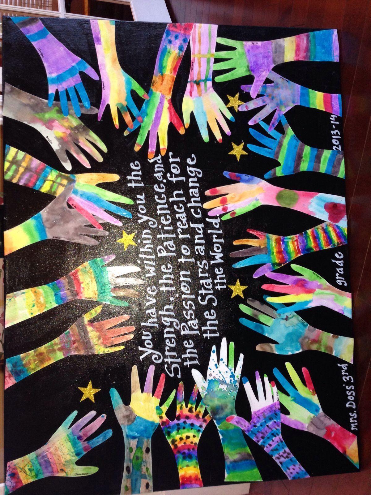 3rd grade auction project   Art Education   Pinterest ...