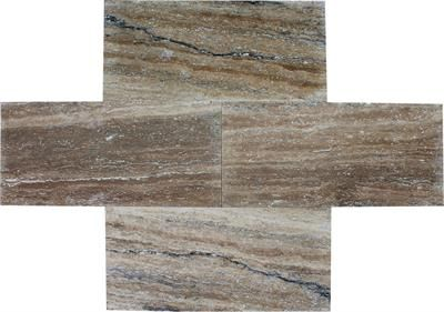 "SSK-832  12"" X 24"" IRISH CREME VEIN CUT POLISHED"