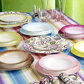 light pink dinner plate