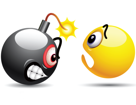Ticking Time Bomb Smiley Emoji Images Emoji