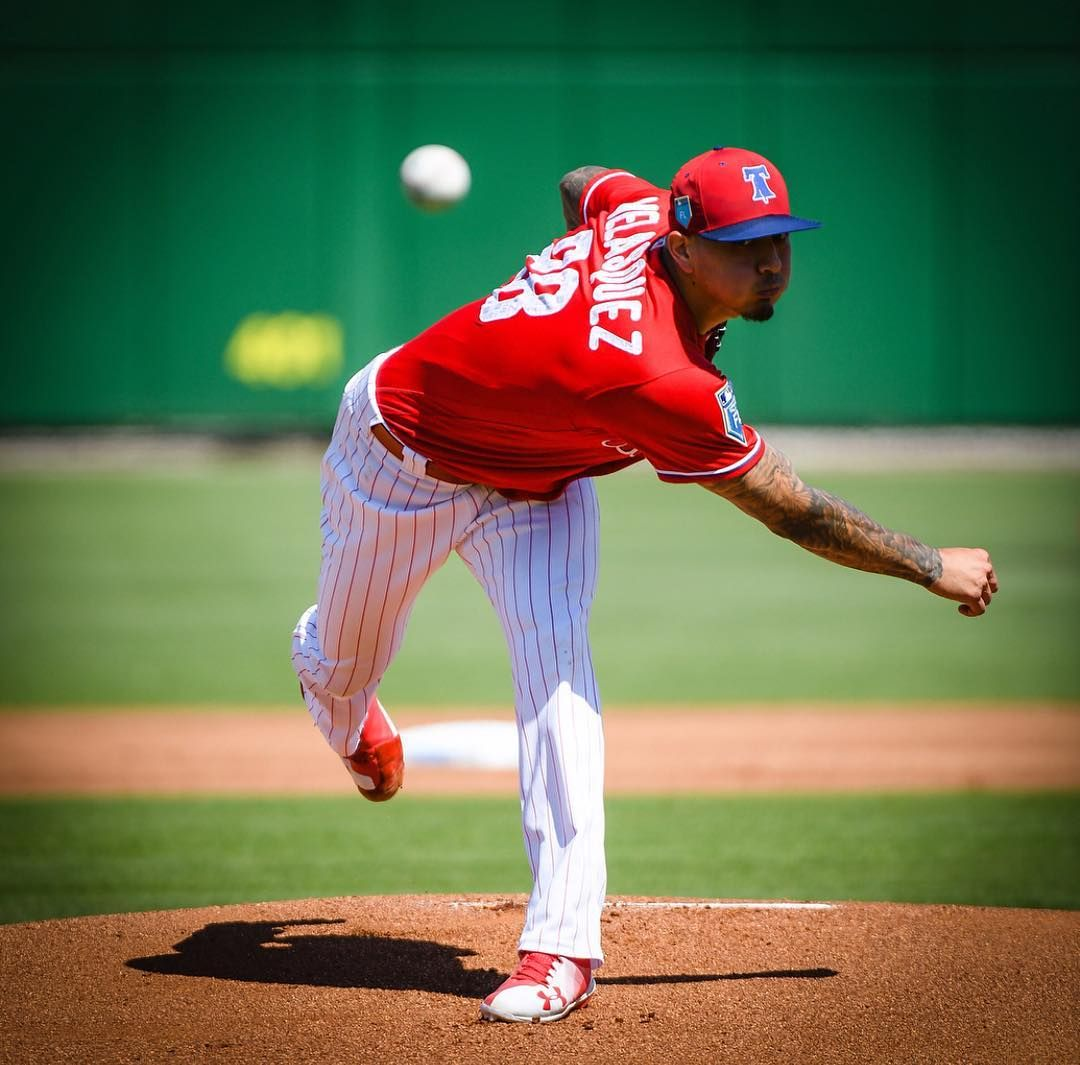 The Phils Won Todays Spring Training Game Against The Twins 4 3 Vince Velasquez Allowed 0 Ers In 2 The Phils Wo Phillies Philadelphia Phillies Baseball Season