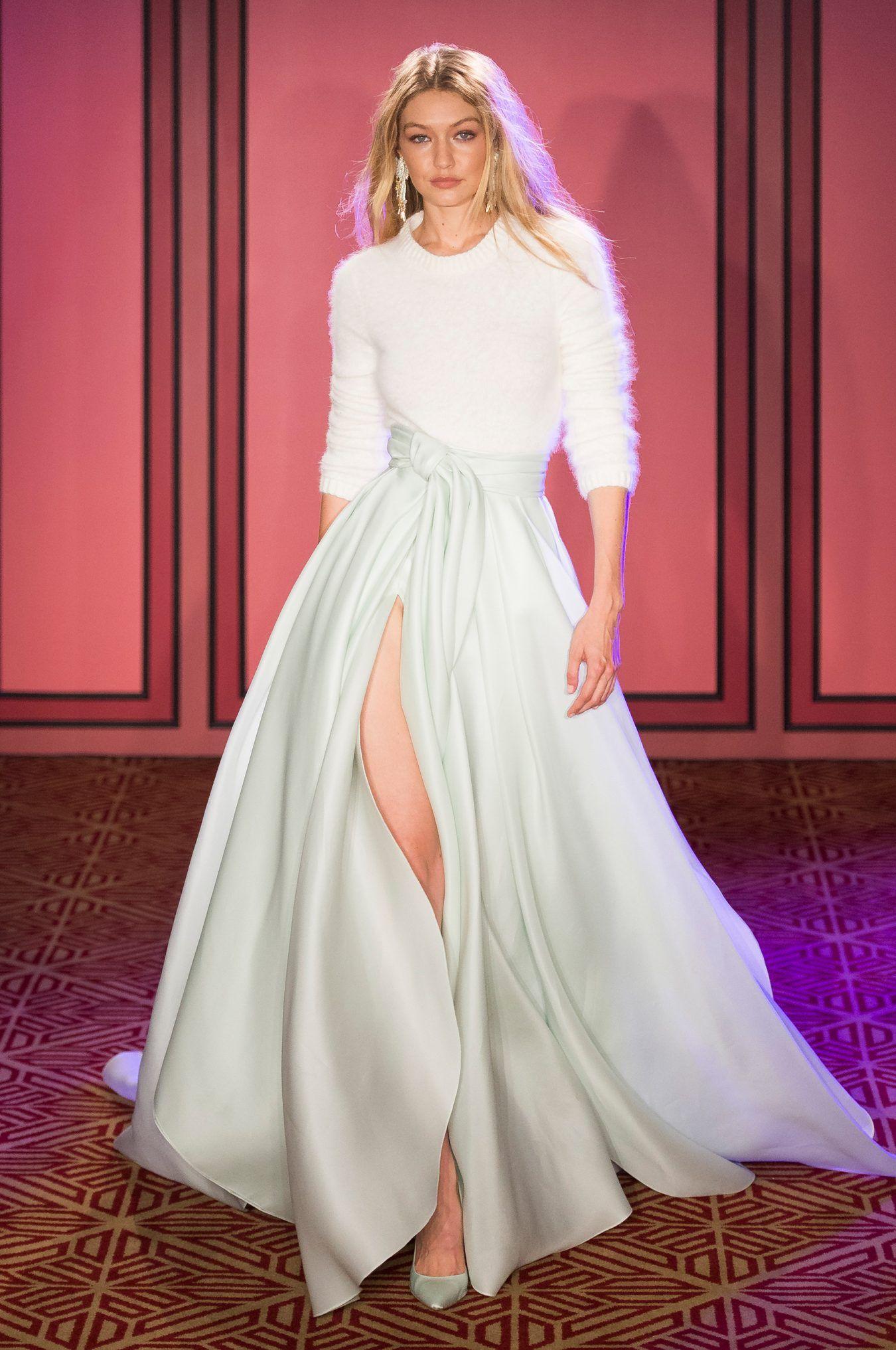 Brandon maxwell spring fashion show runway womenswear