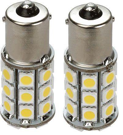 2 X Gold Stars 11560040 02 Replacement Led Bulb 1156 1141 Base Tower 280 Lums 12v Or 24v Natural White Rv Led Lights Car Led Rv Lighting