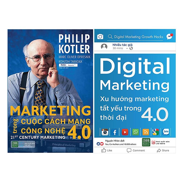 Combo Digital Marketing – Xu Hướng Marketing Tất Yếu Trong Thời Đại 4.0 + Marketing Trong Cuộc Cách Mạng Công Nghệ 4.0 ( 2 Cuốn ) | Tiki.vn