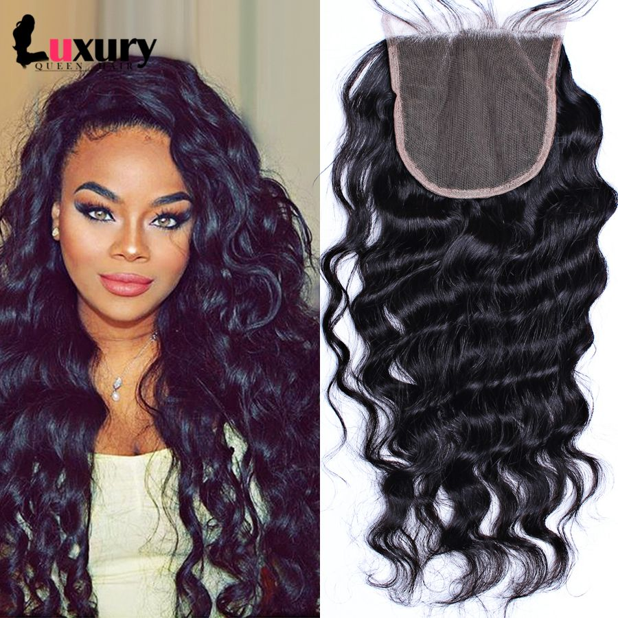 Where to buy hair closures - Downey Lace Wig Application Brazilian Hair Closure With Natural Part 004