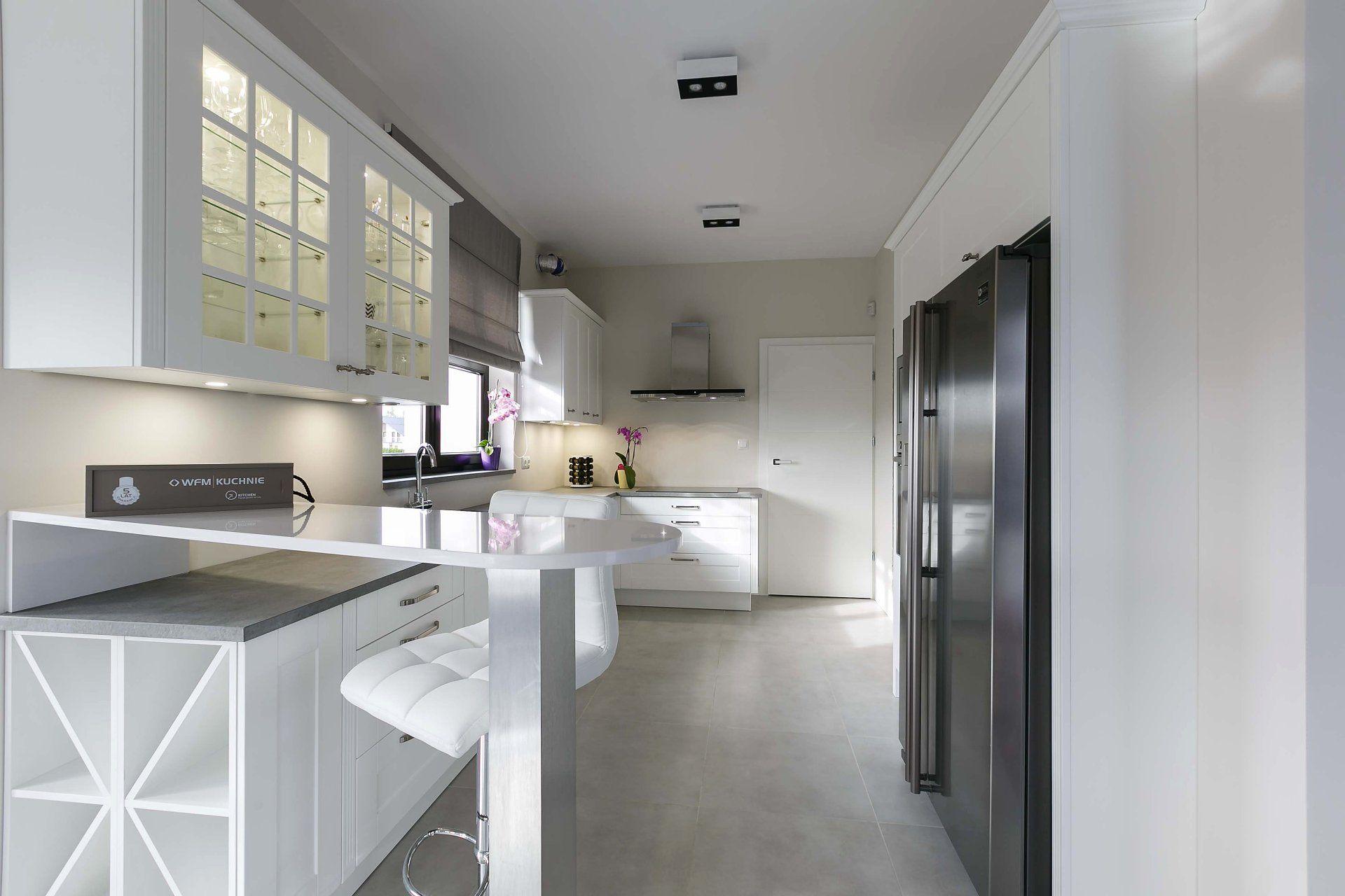 Klasyczna Kuchnia Na Wymiar Wfm Rocca M101 Bialy Mat In 2020 Furniture Kitchen Home Decor