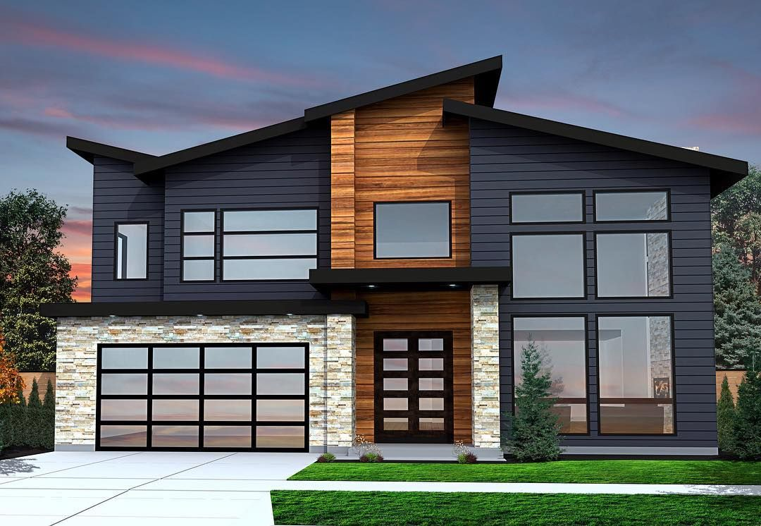 Contemporary House Design homedesign architecture 3d rendering