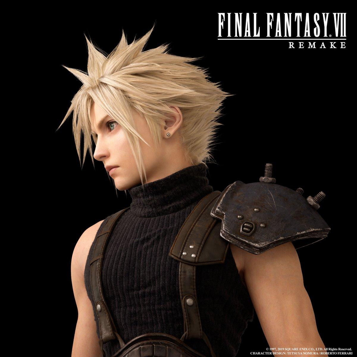 High Resolution Final Fantasy Vii Remake Character Renders E32019 Final Fantasy Vii Final Fantasy Vii Cloud Final Fantasy