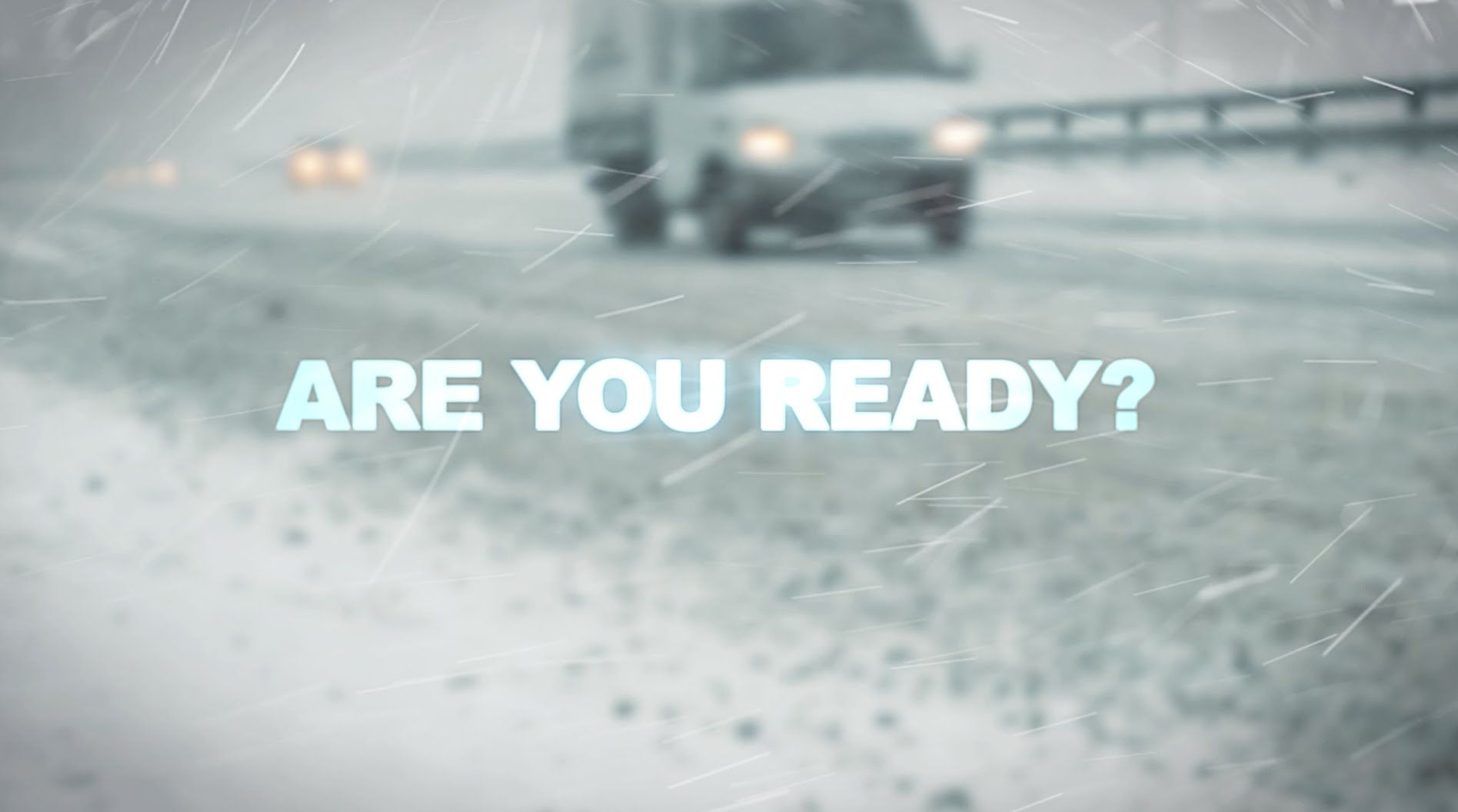 Winter is coming are you ready? Winter is coming