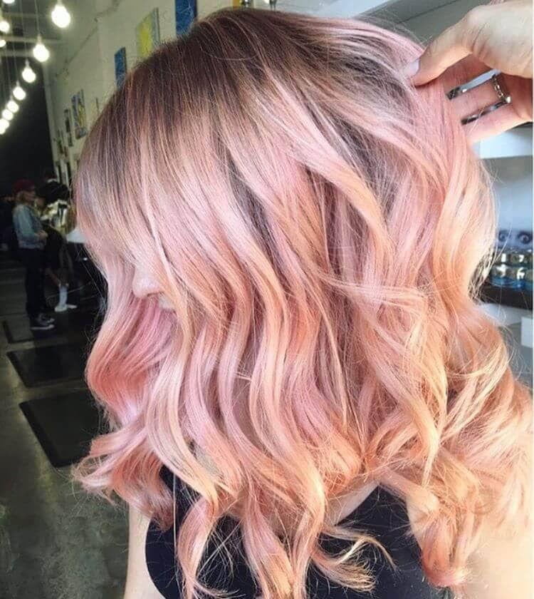 Modern Day Barbie Style Light Pink Hair Light Pink Hair Gold Hair Colors Pastel Pink Hair
