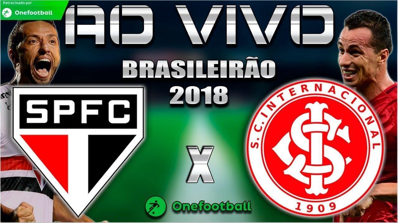 Ouvir Jogo São Paulo x Internacional ao vivo hoje