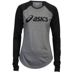 asics t shirt Black
