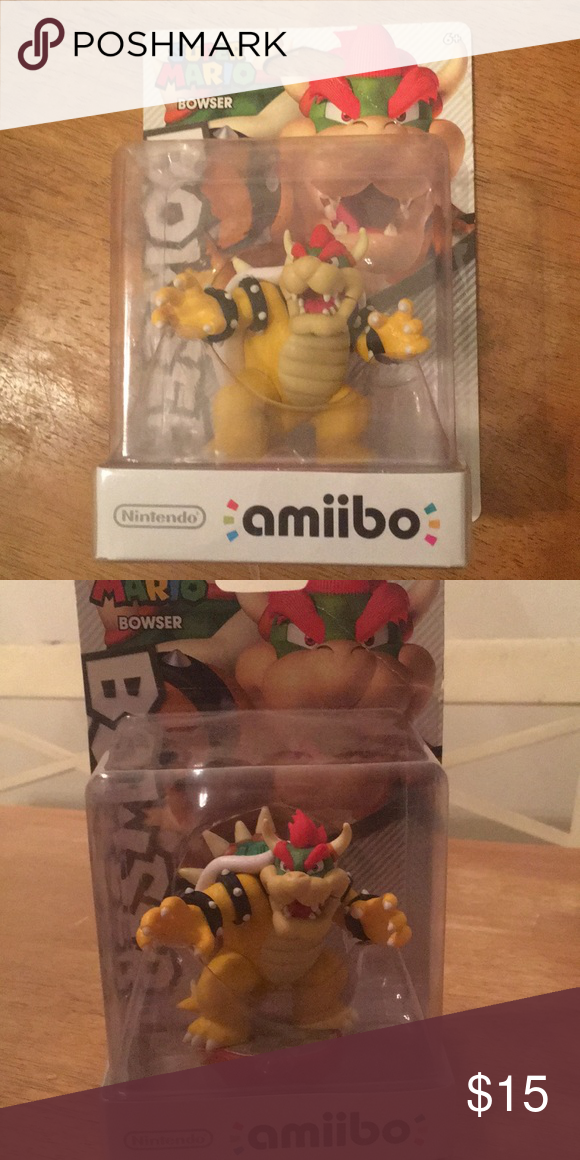 Bowser Figure For Mario Party 10 Nintendo Amiibo Bowser For